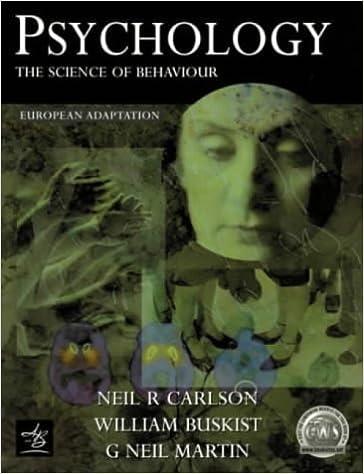 carlson and buskist 1997