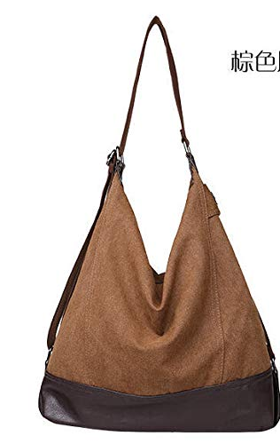 Image Unavailable. Image not available for. Color  DingXiong Casual Women  Canvas Bag Handbag Fall Handbags Large Capacity Blast Wave Korean Special  ... 2f8f8dab291fc