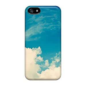 Snap-on Vintake Skies Case Cover Skin Compatible With Iphone 5/5s by runtopwell