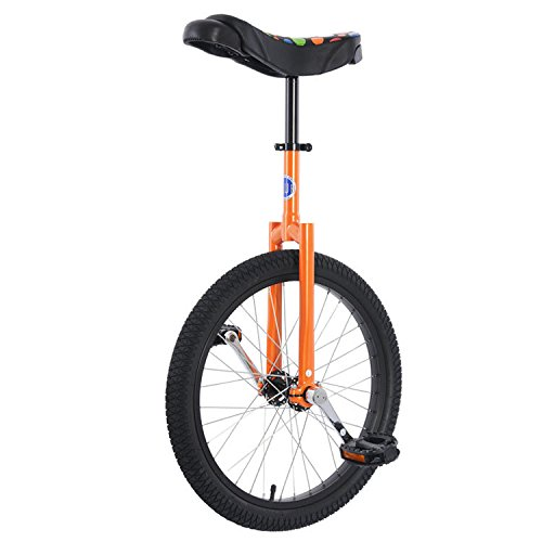 Club 20'' Freestyle Unicycle - Orange by Unicycle.com