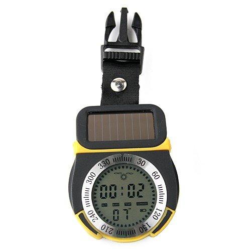 Solar Power Multifunctional Digital Altimeter by AHMET by AHMET