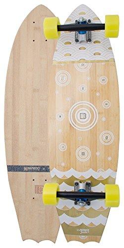 Bamboo Skateboards Bat Tail Chaac