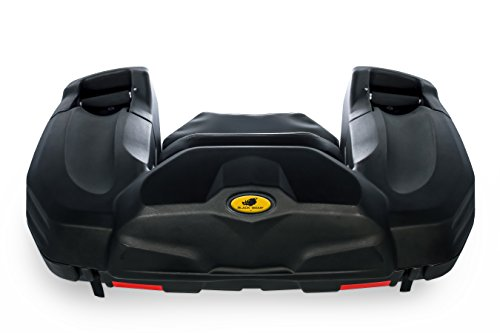 Includes All Mounting Hardware Black Boar ATV Rear Storage Box and Lounger 66010