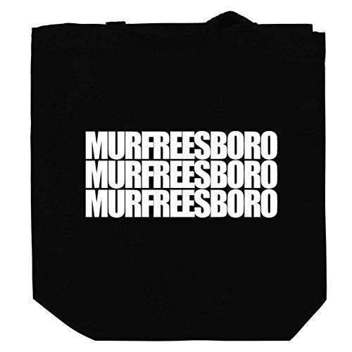 Murfreesboro three words Canvas Tote - Shopping Murfreesboro