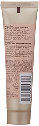 Maybelline Dream Velvet Soft-Matte Hydrating Foundation, Porcelain Ivory, 1 fl. oz.