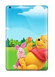 New Arrival Winnie The Pooh Cowtan For Ipad Mini/mini 2 Case Cover