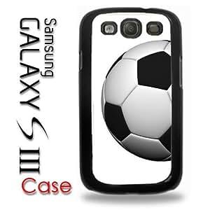 Samsung Galaxy S3 Plastic Case - Soccer Ball FC Futsal Futbol Club Soccer Ball
