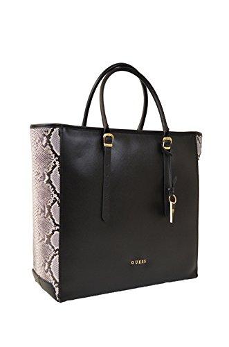 Sac shopping Guess porté épaule de la gamme Luxe en cuir pour femme