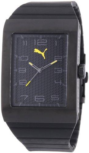 Puma Time Men's Quartz Watch Oxygen Black PU102761003 with Rubber Strap