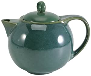 Danesco Ch'a 52-Ounce Tea pot, Green