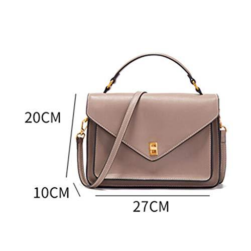 lunghezza Larghezza Shopping 27 A 10 Size Brown 20cm Abbigliamento colore Altezza Nero Dimensioni Borsa Party Da Piccola Borse Donna Tracolla Accessori One vwO6xX