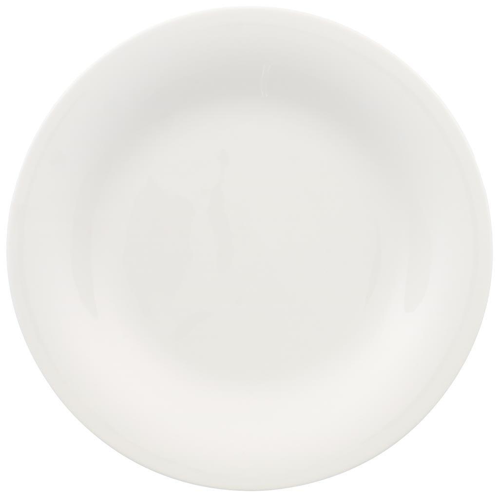 Villeroy & Boch New Cottage Basic Piatto Dessert, 21 cm, Premium Porcellana, Bianco, 22x23x7 cm 1034602640 1034602640_6-21cm
