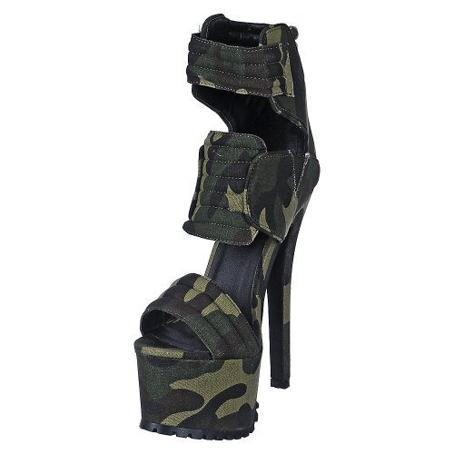 Dress High Heel - CAMOUFLAGE