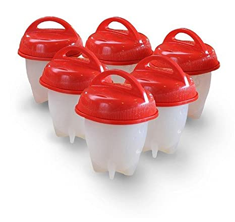 Amazon.com: Escalfador de huevos tazas egglettes COCEDOR de ...