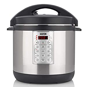 Zavor Select 6 Quart Electric Pressure Cooker and Rice Cooker with Non-stick Inner Cooking Pot and Brushed Stainless… 9