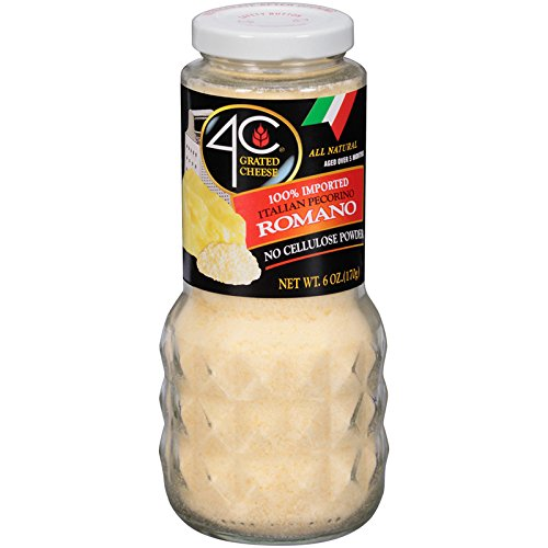 4C Romano Grated Cheese 6 oz. (Pack of 3)