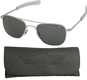 "10700 GENUINE GOVERNMENT AIR FORCE PILOTS SUNGLASSES BY ""AO Eyeware"""