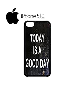 LJF phone case Today is a Good Day Retro Mobile Cell Phone Case Cover iPhone 5c White