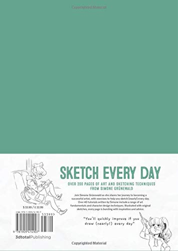 Sketch Every Day: 100+ simple drawing exercises from Simone