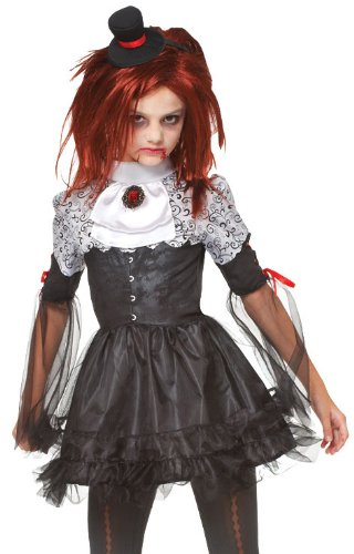 [Edgy Vamp Costume - X-Large] (Pretty Scary Halloween Costumes)