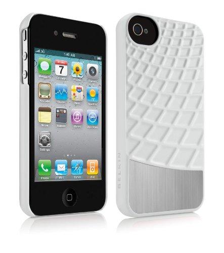 Belkin Meta 030 Acryl Schutzhülle für Apple iPhone 4/4S weiß