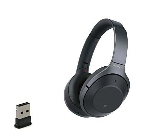 Price comparison product image Sony WH1000XM2 / B Wireless Bluetooth Noise Cancelling Headphones With USB Bluetooth Adapter - Black
