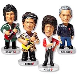 Keith Richards Bobble Head Rolling Stones Forty Licks