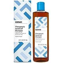 Amazon Brand - Solimo Therapeutic Dandruff Shampoo, Original Strength, 8.5 Fluid Ounce