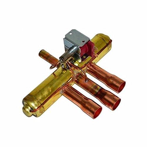 Goodman 0151R00071SP Reversing Valve (V6-414081-1GD) comes w/ BFKZ-053S Bi-Flow Filter Drier