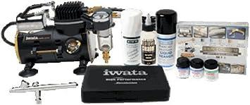 Iwata Airbrush Kit >> Iwata Z Model Sprint Compressor And Airbrush Kit Uk Z Model Sprint