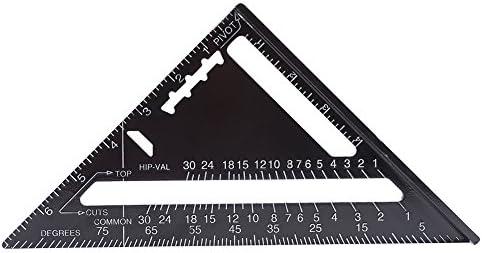 Quadrat Dreieck Winkelmesser Für Bauherren Aluminium Legierung Geschwindigkeits