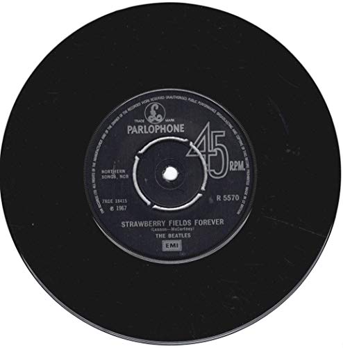 (penny lane / strawberry fields forever 45 rpm single )