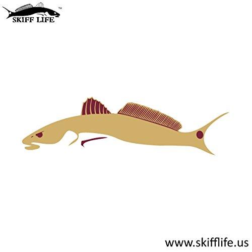 Garnet & Gold Redfish Car Decal Fish Stickers