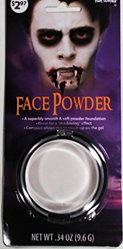 Pressed Powder Compact Costume (White Face Powder For Halloween)