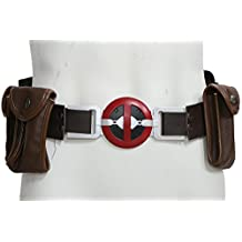 Wade Belt Pool Cosplay Costume Accessories Props Adjustable with Resin Buckle & Bags