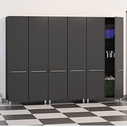 Ulti-MATE Garage Storage Package, Graphite Grey/Black (3-Piece) by Ulti-MATE Garage