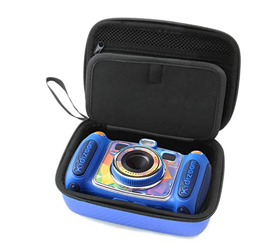 Casematix Blue Kids Camera Case Compatible With VTech Kidizoom Camera Pix ,Twist Connect , Duo Selfie , Includes Case Only