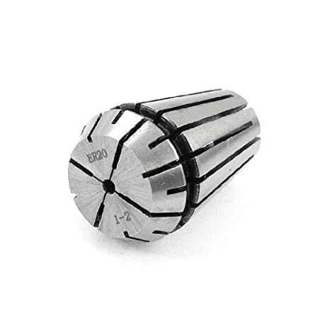 DealMux ER20 ER20-3 mm 4 mm de acero inoxidable fresado CNC primavera Collet