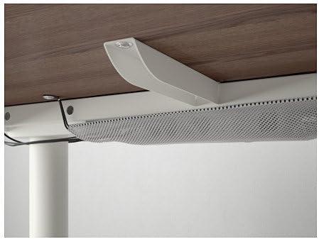 Ikea 26382.888.1610 - Escritorio esquinero izquierdo, color gris y blanco: Amazon.es: Juguetes y juegos