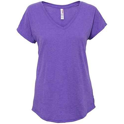 Anvil - Camiseta - para mujer morado (Heather Purple)