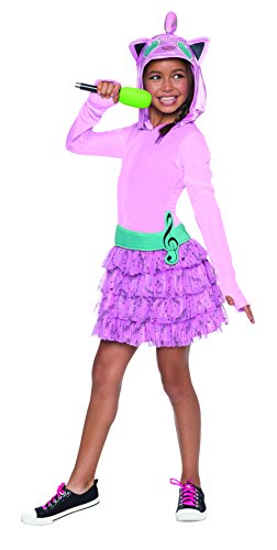 Squirtle Costume Kid (Rubie's Costume Pokemon Jigglypuff Child Hooded Costume Dress Costume, Large)