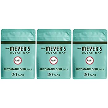 Amazon.com: Mrs. Meyer's Clean Day Automatic Dish Packs