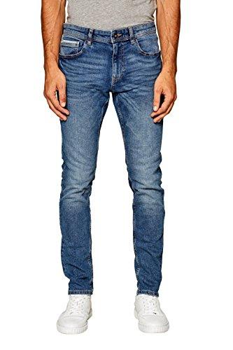 edc by Esprit, Vaqueros Skinny para Hombre Azul (Blue Medium Wash 902)