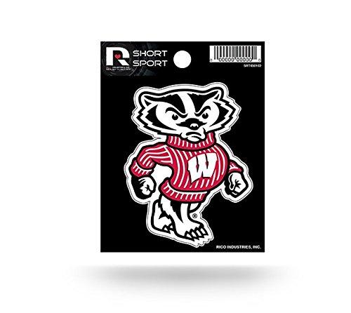 NCAA Wisconsin Badgers  Short Sport - Ncaa Wisconsin Badgers Decal