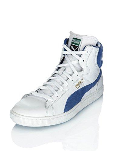 discount hot sale Shoes First Round LS white-monaco blue 14/15 Puma White/Blue view cheap online cheap 2015 new ebJFtxDL