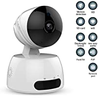 IP Camera,JOOAN 2.0MP 1080P Network IP Camera With Two Way Audio Remote Wireless Baby Monitor With Night Vision(Update Version)