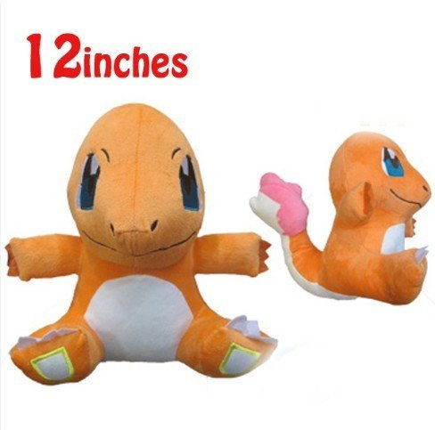 Pokemon-pikachu-Charmander-12-Plush-Doll-Toy