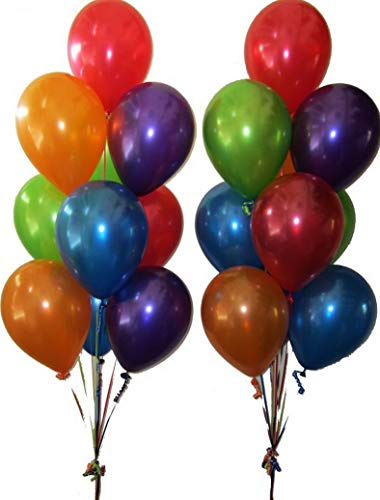 Mikash HeavyDuty Birthday Wedding Party Decoration Latex Helium Quality Balloons USA | Model WDDNGDCRTN - 22472 | 36