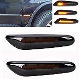csslyzl Dynamic Amber LED Side Marker Light Sequential Blinker Turn Signal Lamp Assembly For BMW E82 E87 E90 E91 E92 E93 E60 E46 E83 X3 335i 328i 330i