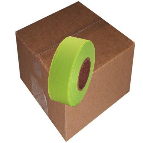 Flaggingテープ1 – 3 / 16 インチ 非粘着プラスチックリボン B0041PATTM オレンジ オレンジ
